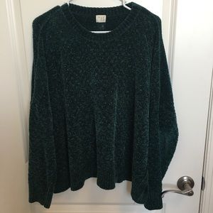 A New Day chenille sweater
